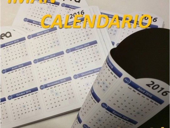 Calendario Imán Para La Nevera, de Regalo!