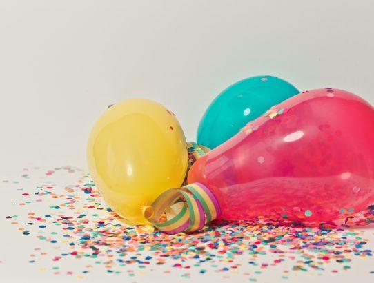 Merchandising para una fiesta de cumpleaños, ¿qué comprar?