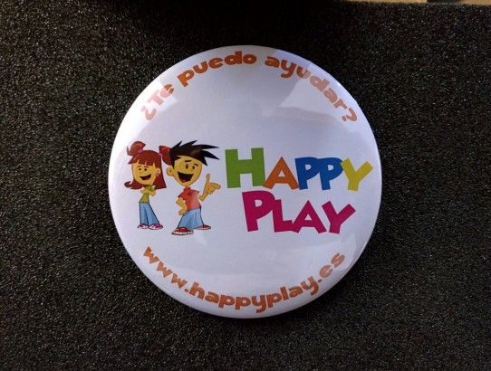 Chapas Personalizadas Happy Play
