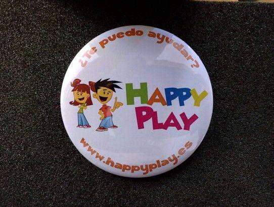 Chapas Personalizadas Happy Play