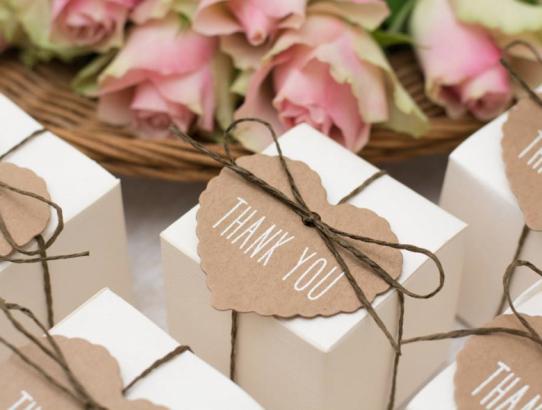 10 ideas de regalos personalizados para bodas